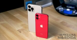 Comparison of photos of iPhone 12 mini and iPhone 12…