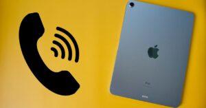 How to use an iPad like a phone