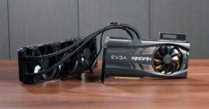 EVGA RTX 3090 Kingpin, the best NVIDIA GPU for overclocking