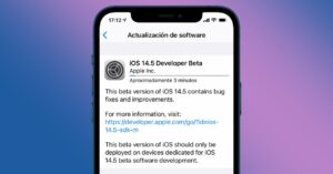 Beta 1 of iOS 14.5 and iPadOS 14.5 relaunched by…