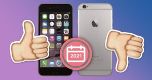 Using an iPhone 6, is it worth it in 2021?