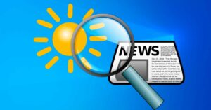 see news and weather
