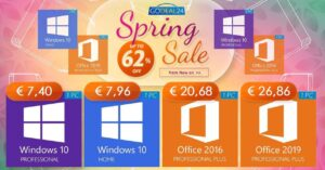 Licenses for Windows and Office with a great price