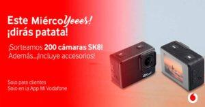 raffle 200 4K action cameras