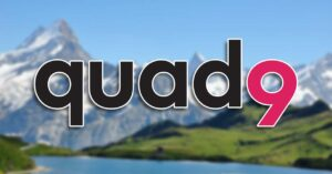 DNS Quad9 (9.9.9.9) leaves the United States: not secure