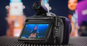Blackmagic Pocket Cinema 6K Pro: news and price