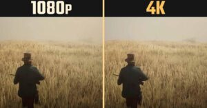 What are the advantages of playing 1080p versus 4K resolution…