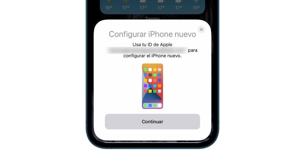 Set up iPhone 1