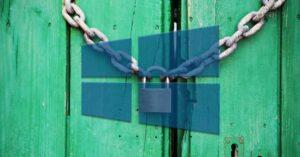 Disable blur on Windows 10 lock screen