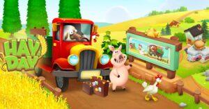 A game to create a FarmVille-style farm