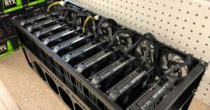 NVIDIA mining GPUs, RTX 3000 out of stock in weeks