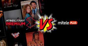 Atresplayer Premium vs MitelePLUS: Total Subscribers in 2020