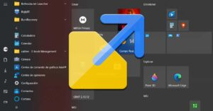 Add or remove shortcuts to the Start menu bar in…