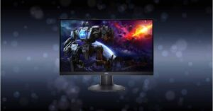 Cheap Dell 23.6-inch 165Hz 1ms 1500R gaming monitor