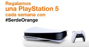 Being from Orange, PlayStation 5 gift promotion in 2021