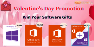 Best Windows and Office deals on G2Deal for Valentine's Day