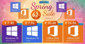 Best deals on Windows 10 and Office licenses from GoDeal24