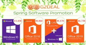 Best deals to buy Windows 10 Pro at G2Deal