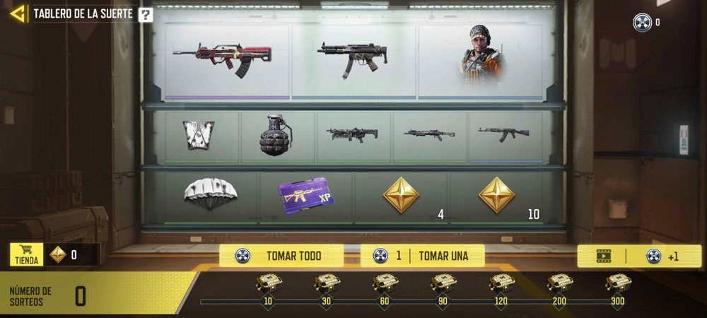 loot boxes reward cod mobile