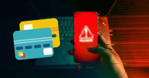 They manage to steal money from credit and debit cards…