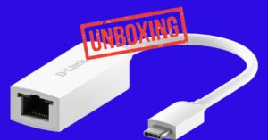 Unboxing of this 2.5GbE to USB Type-C adapter