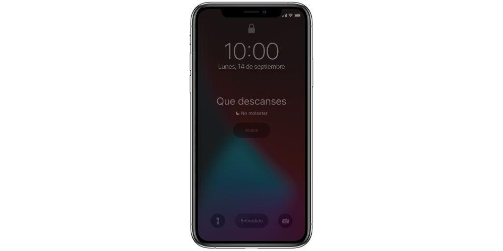 sleep mode iPhone