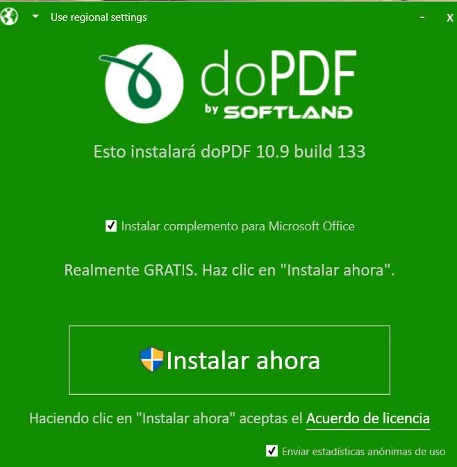 Office dopdf