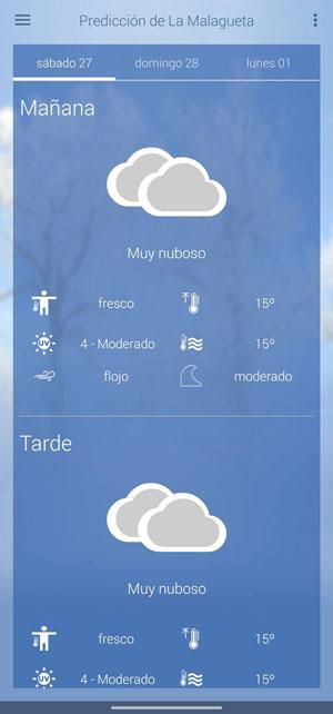 weather aemet forecast