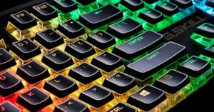 Keys and Double-Shot keycaps, the best for gaming keyboards