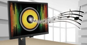 How to fix a monitor whose built-in speakers don't work