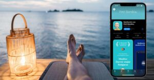 Apps to relax and sleep better available on iPhone