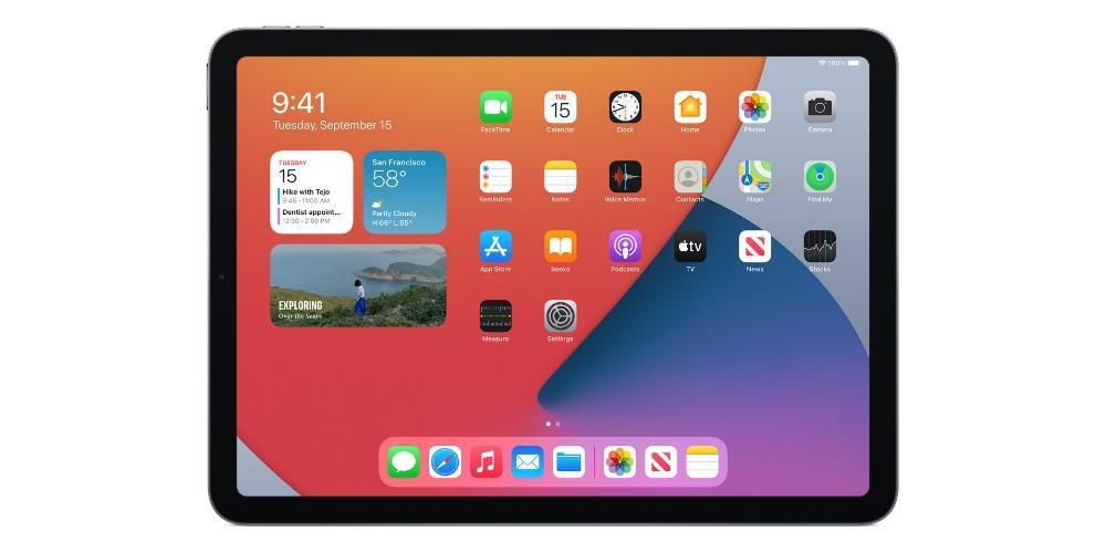 iPadOS iPad Air 2020