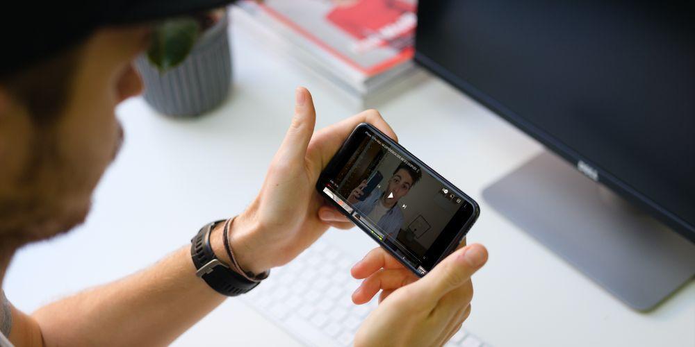 iphone horizontal youtube
