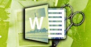 How to crop images in Word: adjust resolution, size, shapes