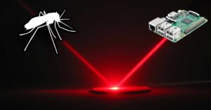 Raspberry Pi that kills mosquitoes by firing lasers: curious project