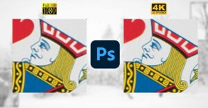 how to resize photos in Photoshop with AI