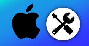 Check the repair status at Apple