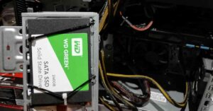 How to install a SATA SSD in an old PC…
