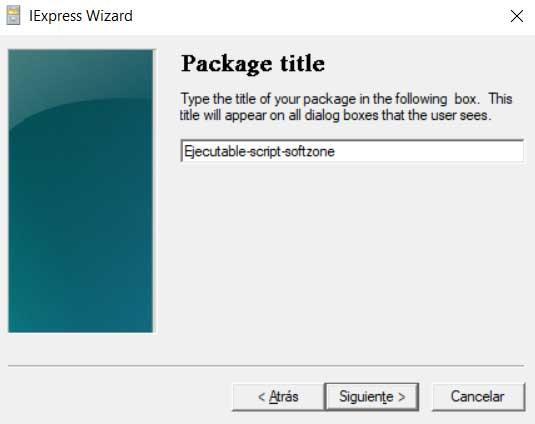 Executable script softzone