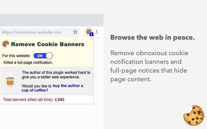 Remove Cookie Banners