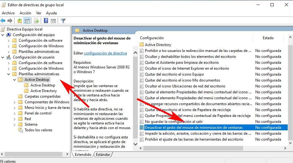 desktop directives