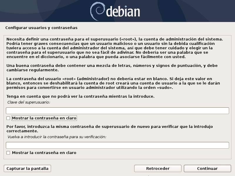 Install Debian - 9