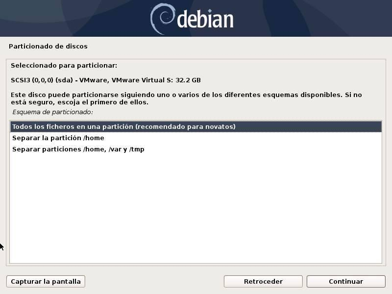 Install Debian - 16
