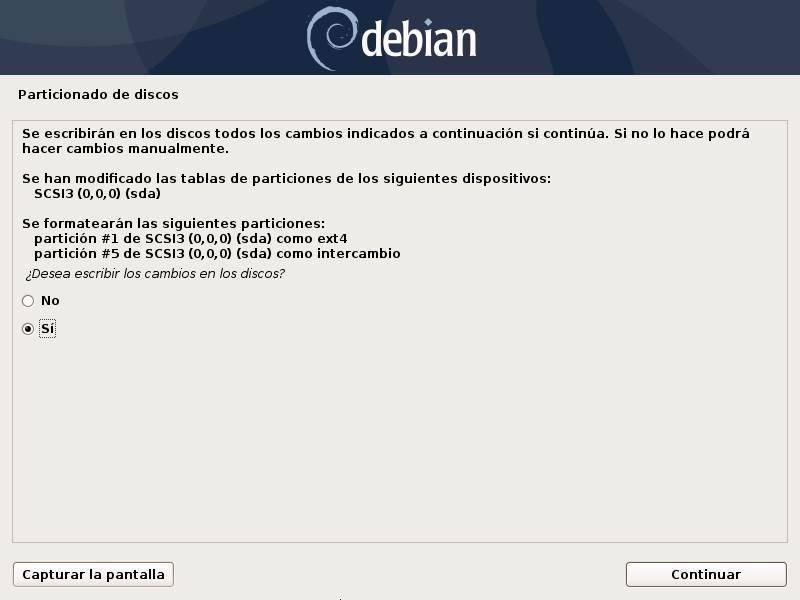 Install Debian - 18