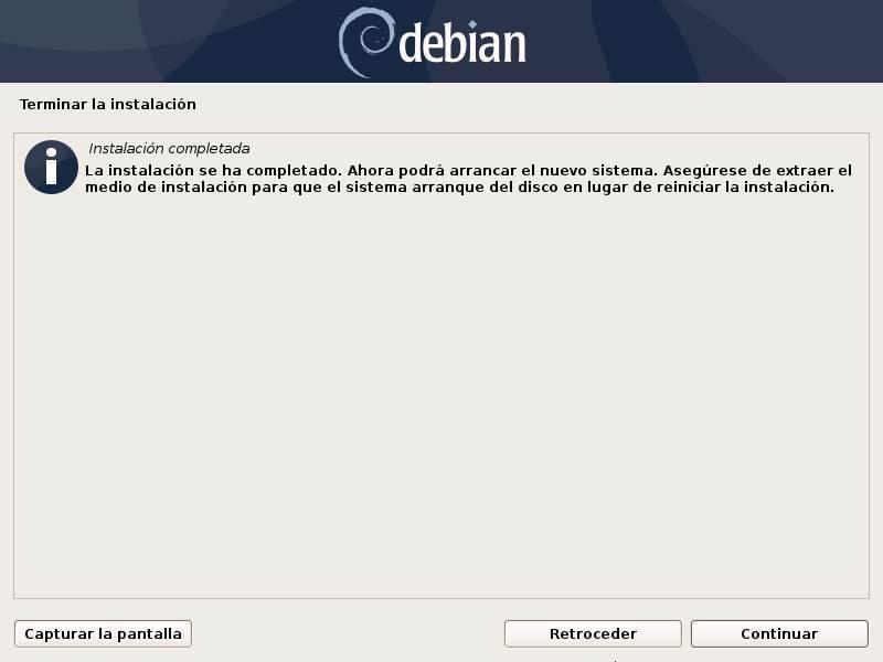Install Debian - 32