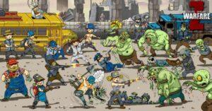Zombie Warfare, apocalyptic strategy game