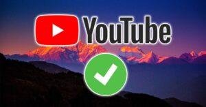 YouTube video copyright: new verification system