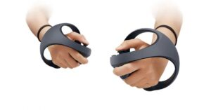 Sony shows PS5 virtual reality controllers