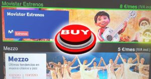 Movistar + channel packages after arriving at ATRESplayer Premium
