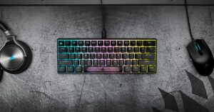 CORSAIR K65 RGB MINI, technical characteristics